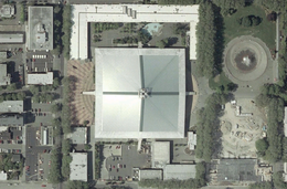Key Arena Centre satellite view.png