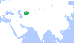 Location of ख़ीवा