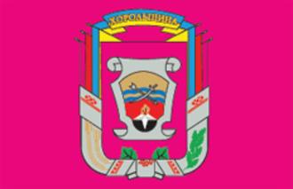 Khorol Raion - Image: Khorolskyj rayon prapor