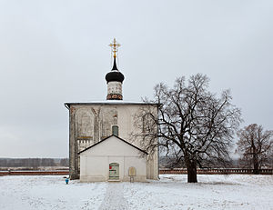 White Monuments of Vladimir and Suzdal - Image: Kideksha ss