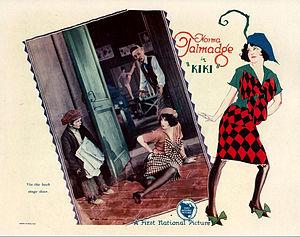 Kiki (1926 film) - Lobby card