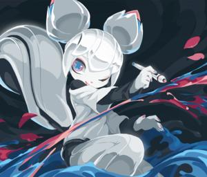 Kiki the Cyber Squirrel - Kiki the Cyber Squirrel, from Krita 3.1 splash