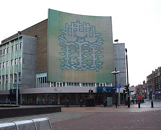 Manor Property Group - The large Italian glass mosaic mural, as featured on the former Co-operative building on Bond Street, Hull.