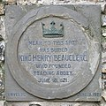 King Henry I Burial Plaque - geograph.org.uk - 397651 cropped.jpg