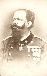 Victor Emmanuel as king of Italy