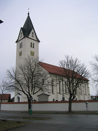 Aichstetten - A Catholic church in Aichstetten.