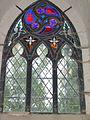 Kirche Behrenhoff, Glasfenster, Restorierung 2014.JPG
