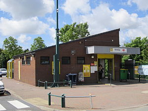 Kirkby railway station - Image: Kirkby railway station ticket office