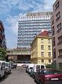 Kischova, pohled přes Dačického ulici na Centrotex.jpg