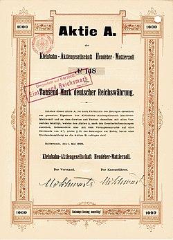 Kleinbahn AG Heudeber-Mattierzoll 1899.jpg