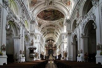 Waldsassen Abbey - Image: Kloster Waldsassen interior 1