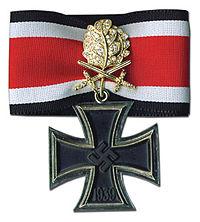 Σταυρός των Ιπποτών του Σιδηρού Σταυρού - Βικιπαίδεια 21f7e414813