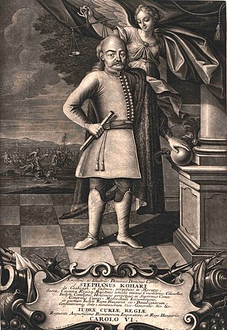 István Koháry - Image: Koháry István országbíró