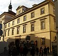 Kolej Klementinum (Staré Město), Praha 1, Křižovnické nám., Karlova 190, Staré Město - součást souboru dům čp. 1.jpg