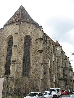 fa095ee422 A Farkas utcai református templom Kolozsváron