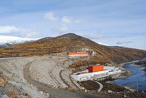 Kolyma Hydroelectric Station - Image: Kolyma HPP 6