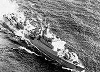 Coastal defense ship Rostock