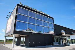 Kunstens hus ved Ölands højskole.