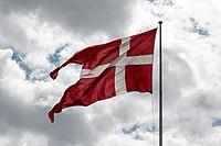 Kopenhagen (DK), Kastell von Kopenhagen, Dänische Flagge -- 2017 -- 1770.jpg