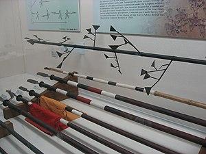 Langxian - Langxian (top), on display