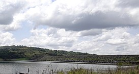 Kossou dam view from the lake.JPG