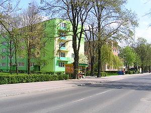 Krasnystaw - bloki mieszkalne