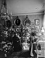 Kreivitär Marianna Armfelt 90-vuotispäivänään kotonaan kukkien ympäröimänä - N4002 (hkm.HKMS000005-km0037gf).jpg