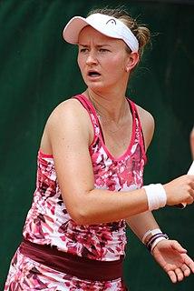 Barbora Krejčíková Czech tennis player
