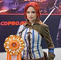 Kristina as Triss from Witcher 3 at Igromir 2013 (10101631933).jpg