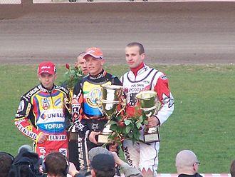 Polonia Bydgoszcz - 2007 Podium: Jaguś (2nd), Ferjan (1st), Mi. Szczepaniak (3rd).