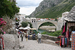 Architecture of Mostar