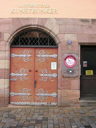 Historischer Kunstbunker - Historischer Kunstbunker: Entrance