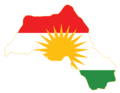 Kurdistan Flag Map.png