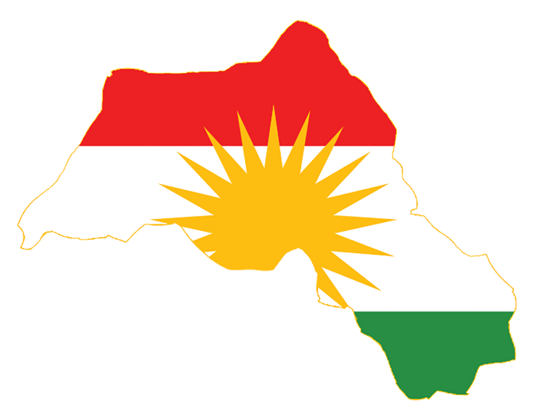 Файл:Kurdistan Flag Map.png
