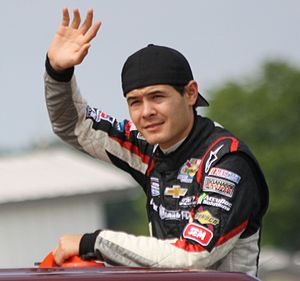 Drive for Diversity - Kyle Larson in the Nationwide Series in 2013.