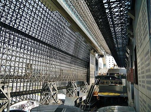 Kyoto Kyoto Station Innen 11