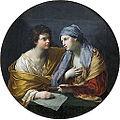 L'Union du dessin et de la couleur, Reni (Louvre INV 534) 02.jpg