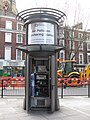 LB of Camden Air Pollution Monitoring Station, Shaftesbury Avenue, WC2 - geograph.org.uk - 1295381.jpg