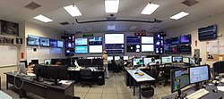 The LIGO Livingston control room as it was during Advanced LIGO's first observing run (O1)