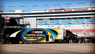 Las Vegas Motor Speedway - LVMS in October 2015