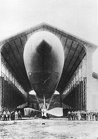 Charles Renard - La France 1884, the first fully controllable airship or dirigible