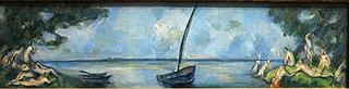 La barca i els banyistes