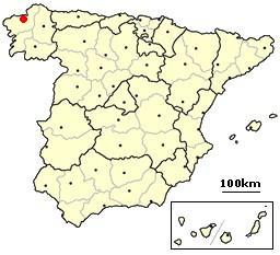 La Coruna, Spain location