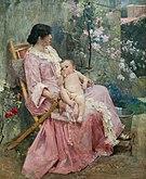 La Joven Madre 1889 by Arturo Michelena.jpg