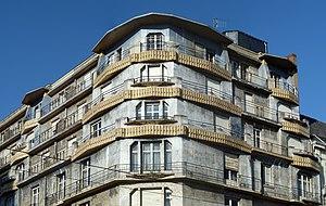 La maison bleue à Angers