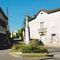 """La croix du Castéra et la rue de la """"Carraou"""".jpg"""