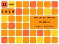 La gestion de contenu et wikipédia.pdf