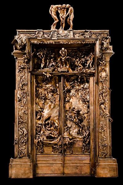 Archivo la puerta del infierno de rodin del museo soumaya for Puerta 6 del autodromo