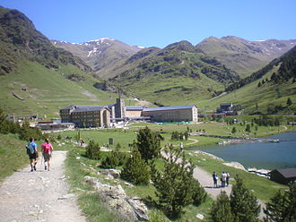 Vall de Núria - Image: La vall de Núria