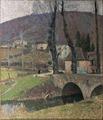 Labastide-du-vert, le village Henri Martin musée de Cahors Henri-Martin Ni.304.tif